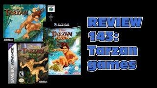 DGVF Review 143: Tarzan Games