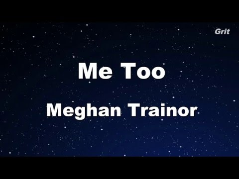 Me Too - Meghan Trainor Karaoke 【No Guide Melody】 Instrument