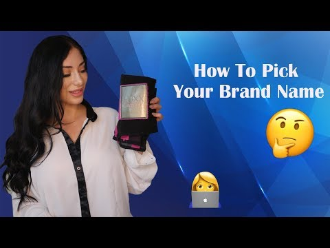 Amazon FBA - How To Pick Your Brand Name For Your Online Business