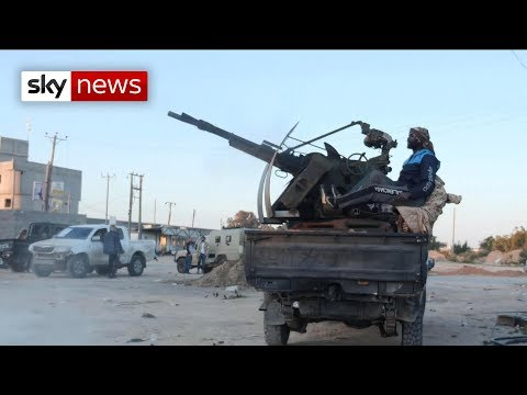 On The Front Line In Libya