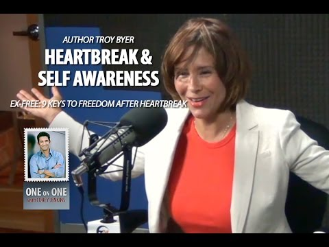 Author & Film Maker Troy Byer  Self Awareness, Overcoming Heartbreak & Happiness