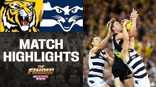 Richmond v Geelong Highlights | Preliminary Finals, 2019 | AFL
