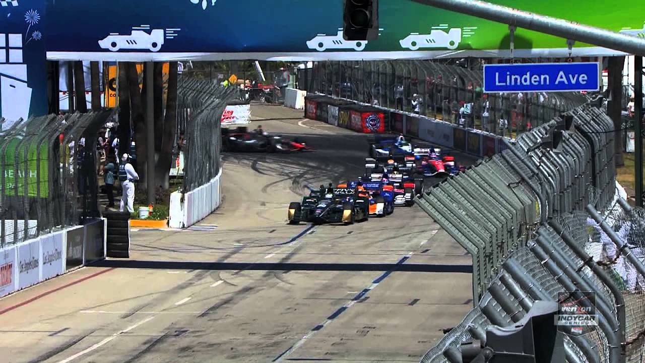 2017 Toyota Grand Prix Of Long Beach Race Highlights Indycar