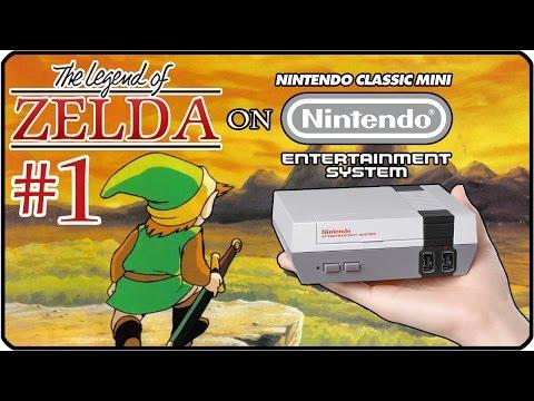 THE LEGEND OF ZELDA Part 1: Das Abenteuer beginnt erneut auf dem NES Mini | Level 1 & 2