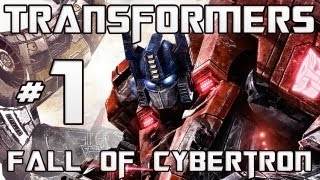 Transformers Fall of Cybertron Campaign - Chapter 1 - The Exodus w/ Live Commentary