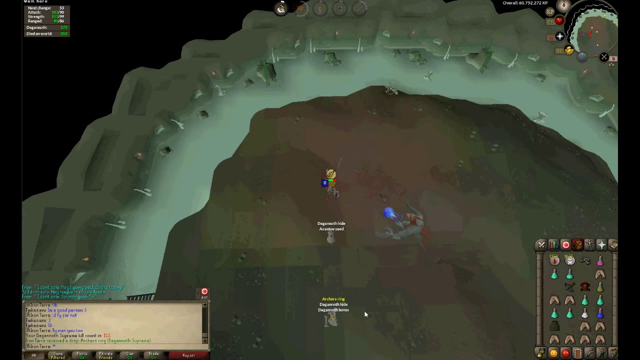 OSRS Ironman - B2B Archers ring