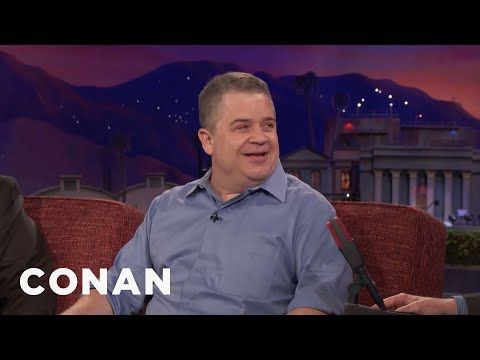 Patton Oswalt Is Trying To Be Healthier  - CONAN on TBS