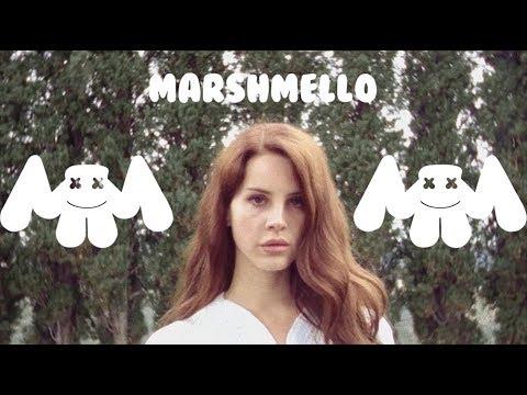 Lana Del Rey x Marshmello ft. Khalid - Summertime Silence [Music Video Mashup]