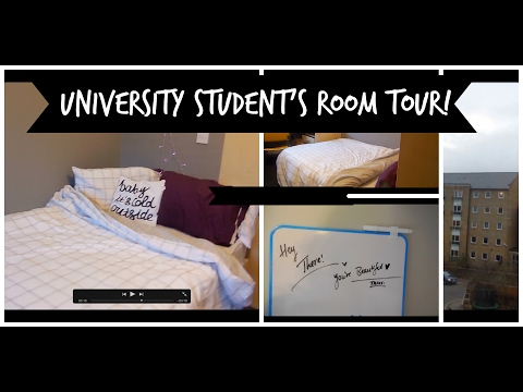 Realistic Room Tour   UNITE STUDENTS   HUDDERSFIELD