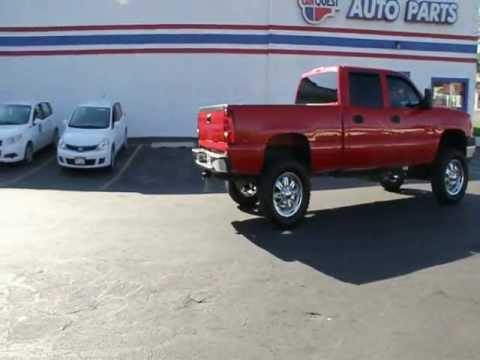 Sierra Chevy 2006 Chevrolet Silverado 2500HD Duramax Diesel 4x4 Leather ...