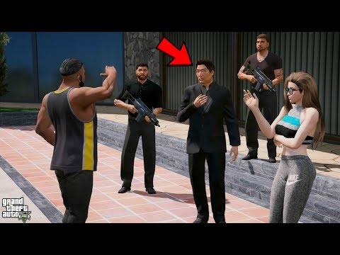 GTA 5 REAL LIFE MOD #316 FRANKLIN MEETS MIA'S FATHER
