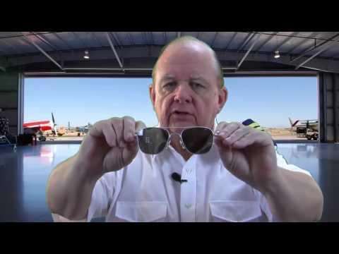 AO Original Pilot Matte Chrome Frame Bayonet Temple True Color Gray Lens Sunglasses