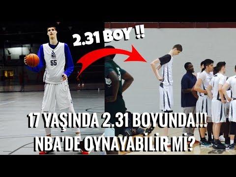 17 YAŞINDA BOYU 2.31! - NBA'DE OYNAYABİLİR Mİ? - Basketbol Hikayeleri
