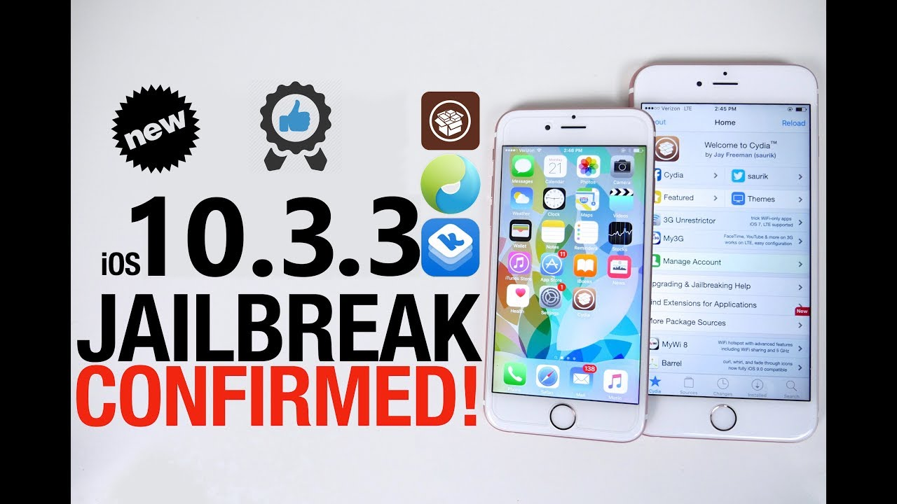 iOS 10.3.3 Jailbreak - Cydia 10.3.3 - How to Jailbreak iOS 10.3.3 ...