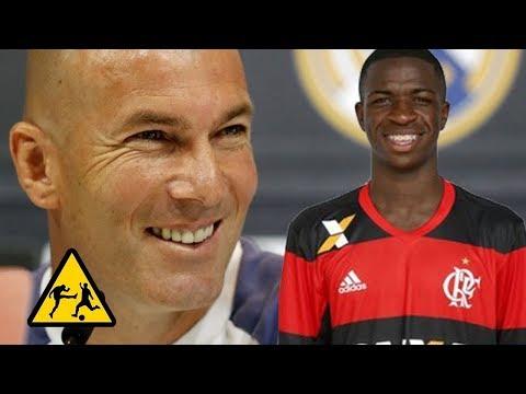 Zidane afirma que Vinicius Junior é o futuro CR7 do mundo!!! thumbnail