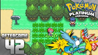 Pokemon Platinum Part 42 - Catching Zapdos, Articuno, and Moltres