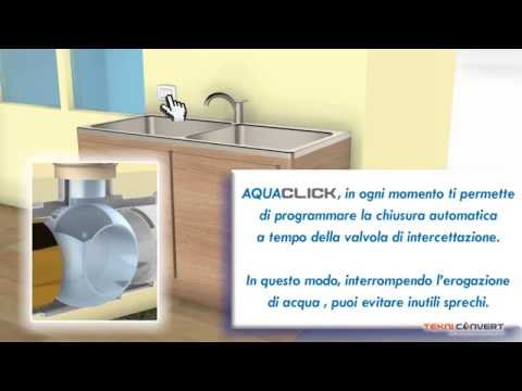 Aqua Click: apri e chiudi l'acqua con un click