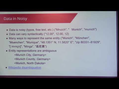 How to Merge Noisy Datasets - Johannes Ahimann