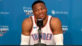 Russell Westbrook Press Conference | Okc Thunder Media Day | 24.09.2018
