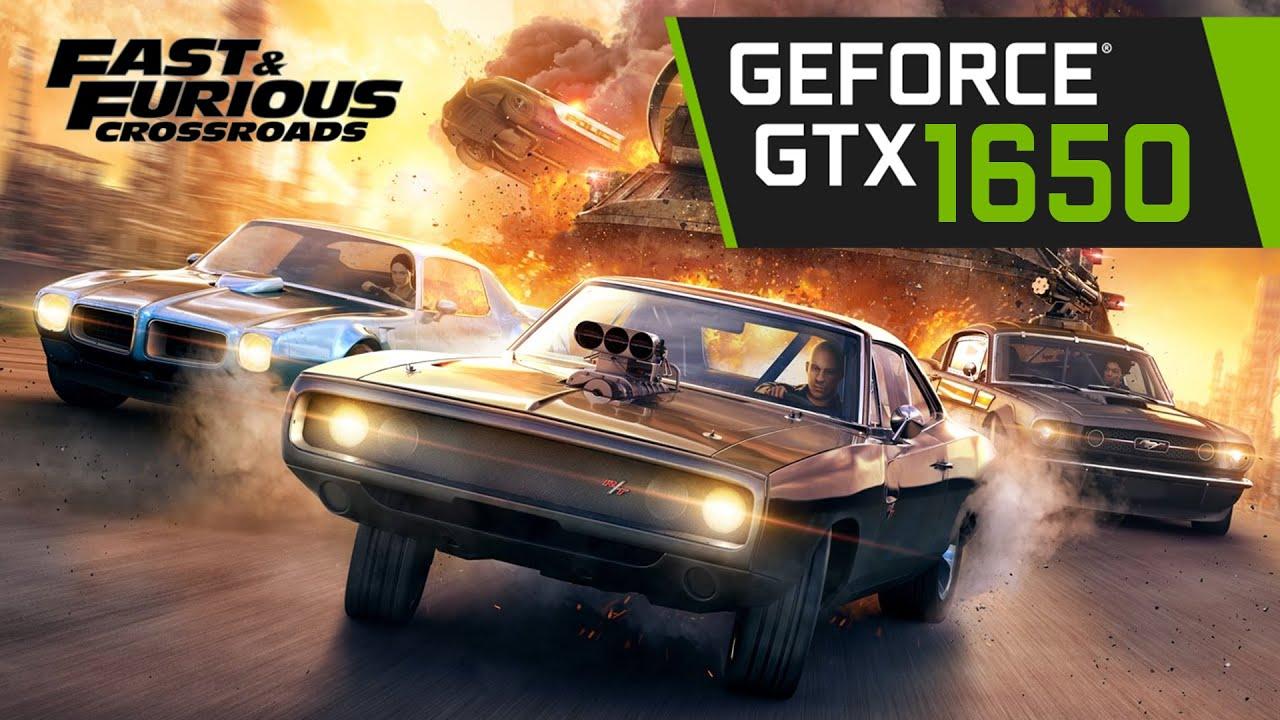 GTX 1650 | Fast & Furious Crossroads | Gameplay Test