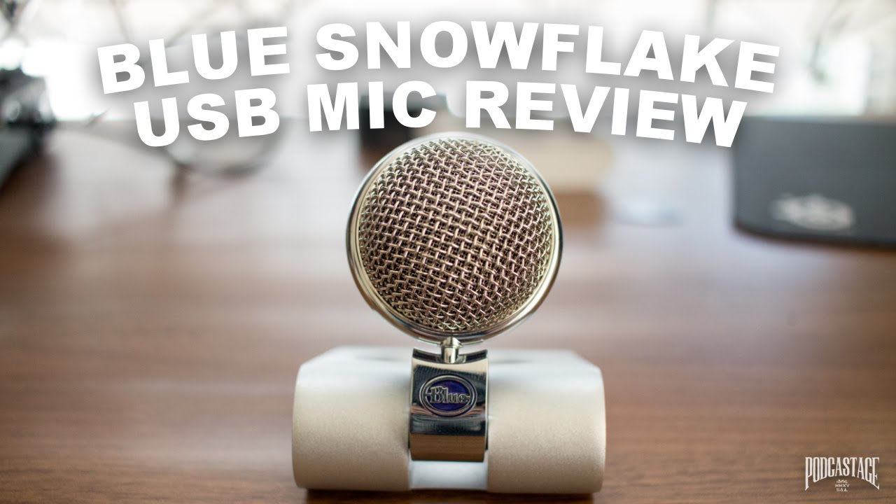 Blue Snowflake USB Mic Review / Test