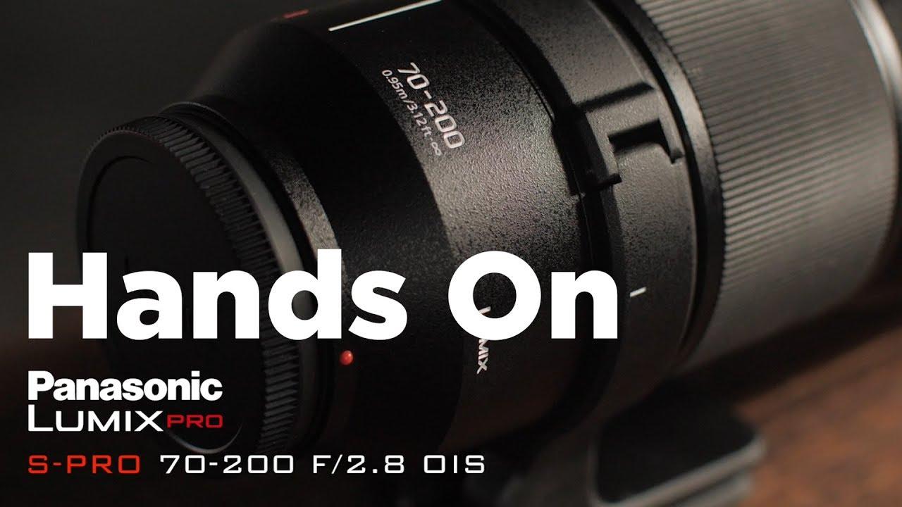 Panasonic LUMIX S PRO 70-200mm F4 Telephoto Lens Mirrorless Camera and 2X Teleconverter
