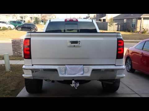 2014 Silverado Oled Taillights From Vipmotoz Youtube