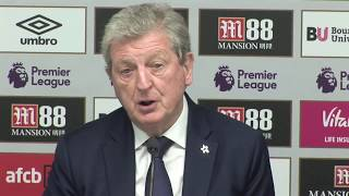 Hodgson encouraged by Palace performance