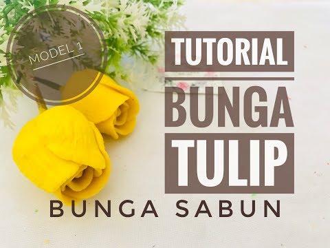 Tutorial Mudah Membuat Bunga Tulip Cepat Dan Mudah Untuk Pemula Bunga Sabun Diy Youtube