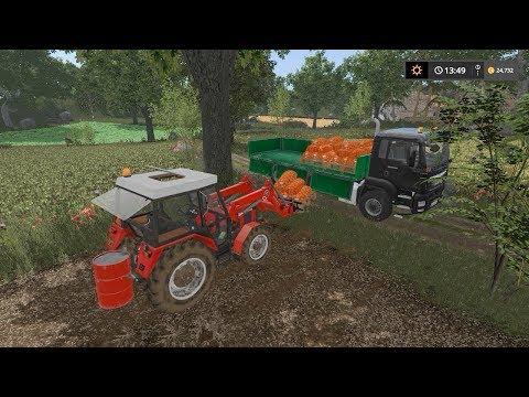 Selling potato pallets and bales | Small Farm | Farming Simulator 2017 | Episode 11