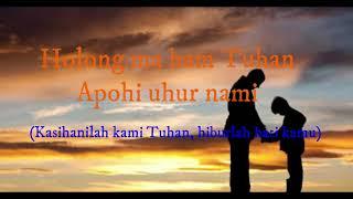 #LaguBatak #laguSimalungun Bapa Na Bujur (lirik & Terjemahan)