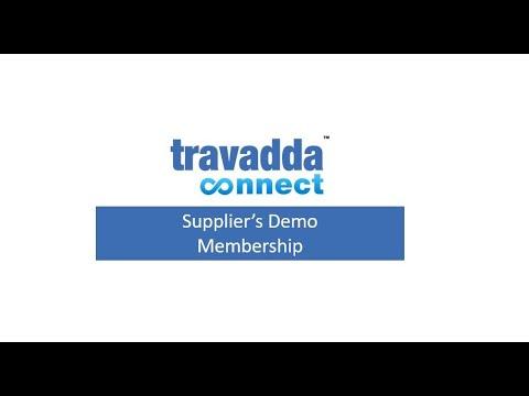 Travadda Connect   Supplier's Demo - Membership