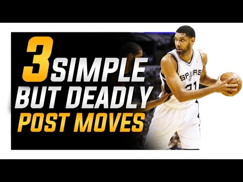 3 Simple BUT Deadly Post Moves: Footwork For Centers and Pow