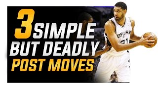 3 Simple BUT Deadly Post Moves: Footwork For Centers and Power Forwards thumbnail