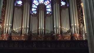 Le grand orgue de Notre Dame de Paris. - 4 - Concert inaugural