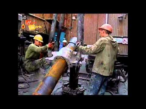 Работа на буравой oilman,by