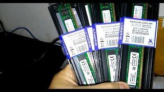 Chegou Muamba da CHINA (memoria DDR2) AliExpress.
