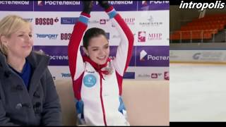 Это было круто и очень громко, спасибо! Evgenia Medvedeva 1 место в финале Кубка России