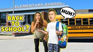 First Day BACK TO SCHOOL PRANK (DURING QUARANTINE) | The Royalty Family