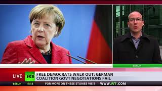 'Merkel's time as politician is over now, it's her personal failure' -  German MP