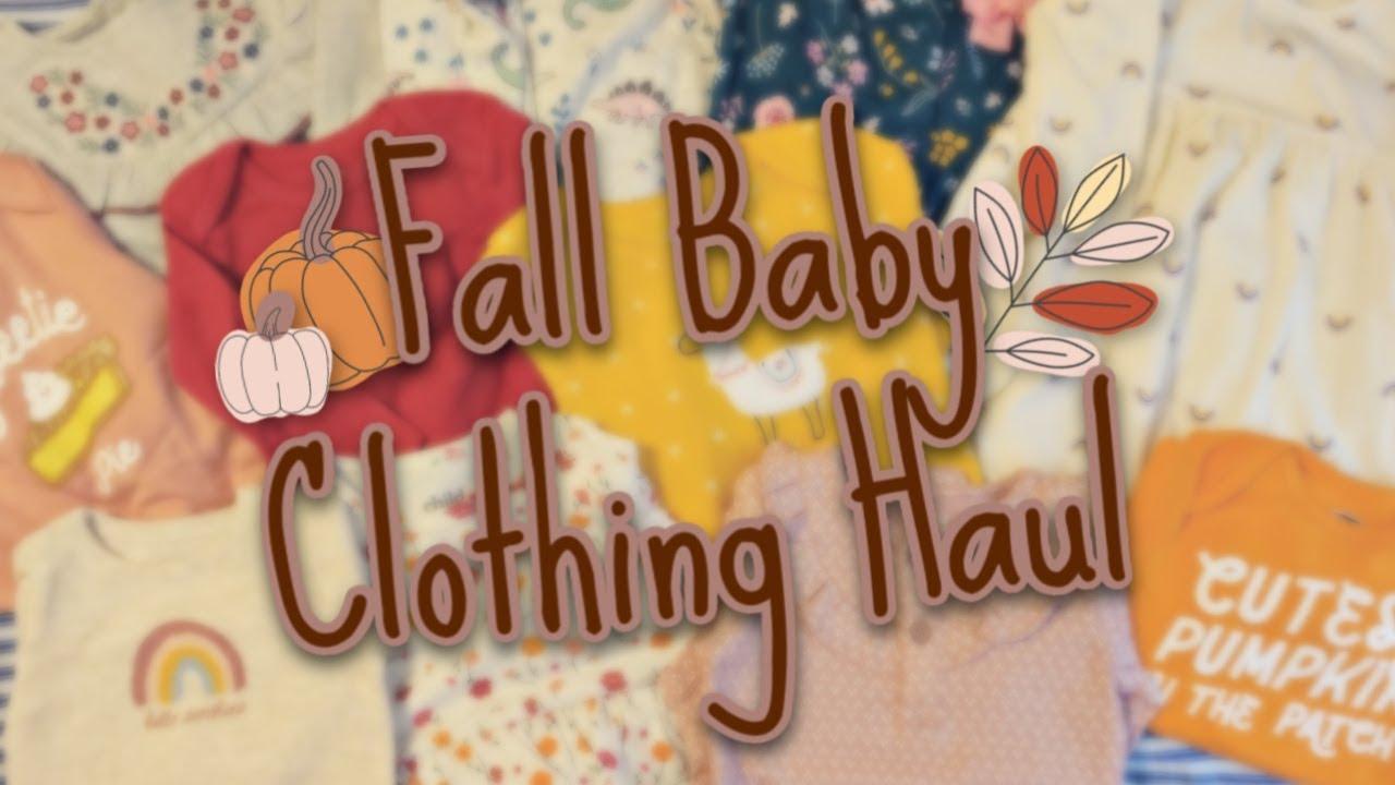 Fall Baby Clothing Haul - Walmart, Old Navy, Carter's, Target +