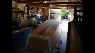 How To Build A Boat With Myboatplan : Watch Wood Boat Building Demo