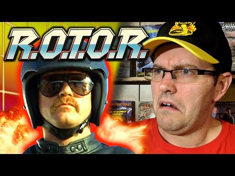 R.O.T.O.R. (1987) - Part Terminator, Part Robocop, ALL TERRIBLE! - Rental Reviews