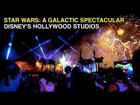 [4K] Star Wars: A Galactic Spectacular Fireworks - Disney's Hollywood Studios (Orlando, FL)