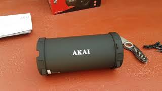 Unboxing Boxa portabila cu Bluetooth Akai ABTS-11B