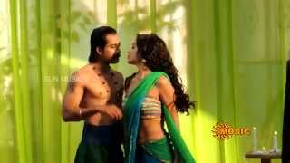 Shriya Neck Kiss and Navel Strip