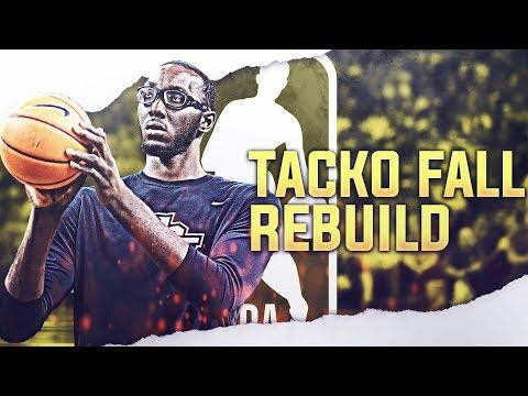 7'6 TACKO FALL REBUILD! NBA 2K19 thumbnail