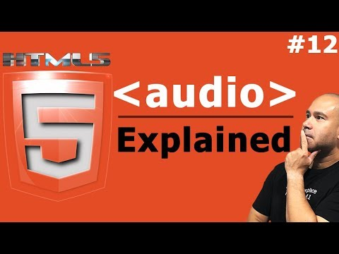 How To Embed Audio In HTML - Audio Tag Explained - Tutorial For Beginners