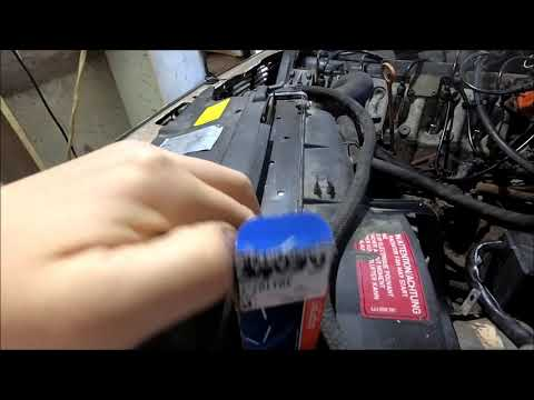 Audi 100 C3 2.3 NG - Замена датчика давления масла.