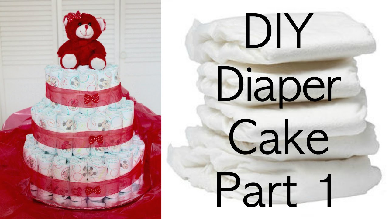 Diy diaper cake part 1 creating the basic diaper cake youtube diy diaper cake part 1 creating the basic diaper cake publicscrutiny Image collections